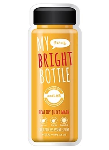 Ancors Ancors My Bright Bottle - Meyve Özlü Canlandırıcı Yüz Maskesi Renksiz